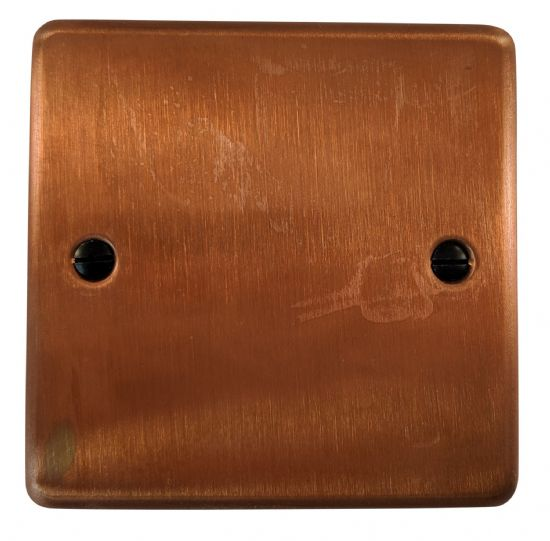 G&H Standard Plate Tarnished Copper